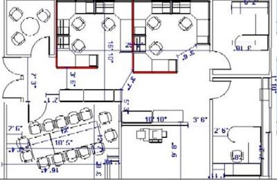 Office Space Planning Amp Cad Design Davena Office