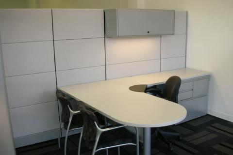 Used modular office funiture