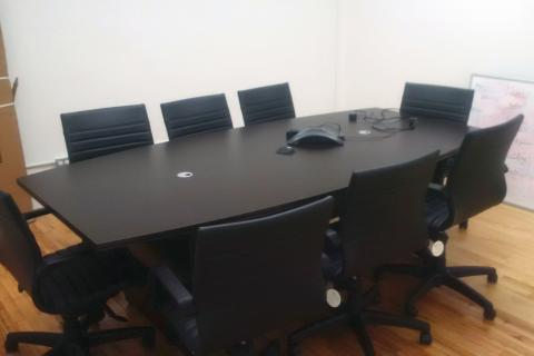 New Boat Shaped Conference Table 96