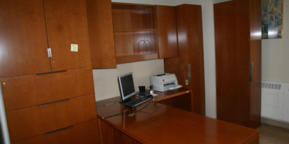 used offcie furniture- private office