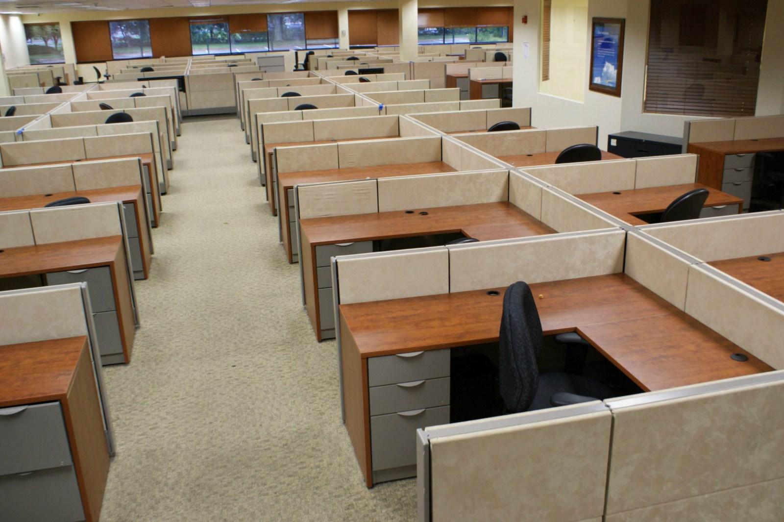 8 Herman Miller 38 Quot Used Workstation Ethospace Davena